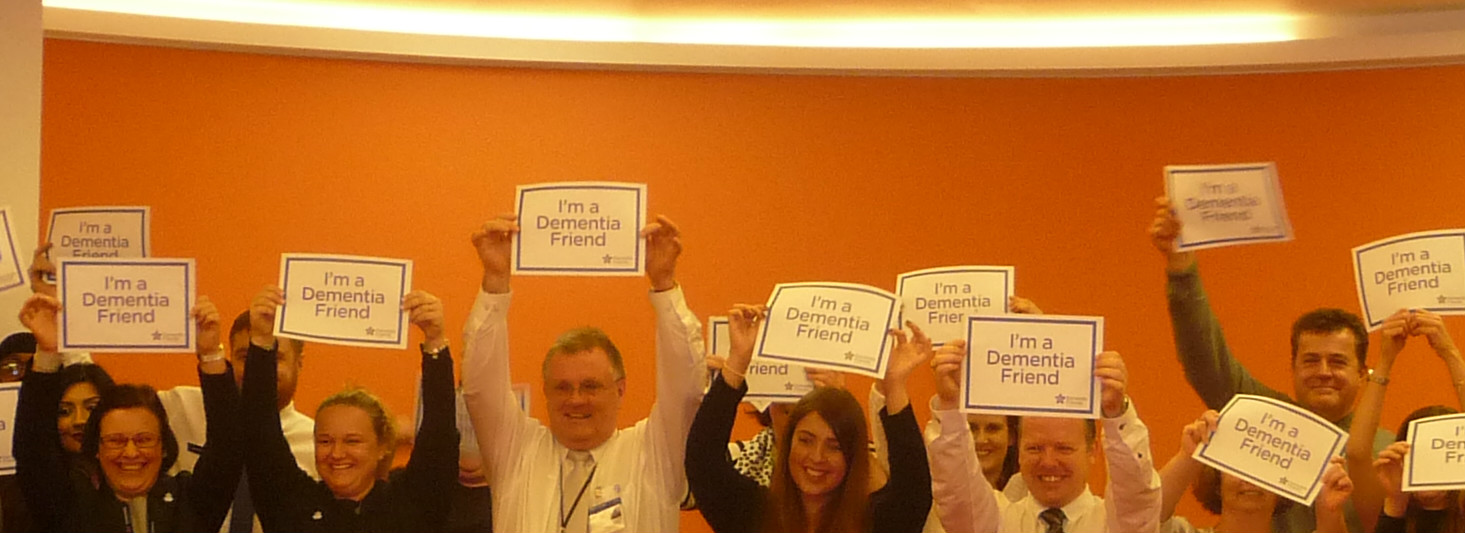 Iain Wade Dementia Friends Champion Session RBS