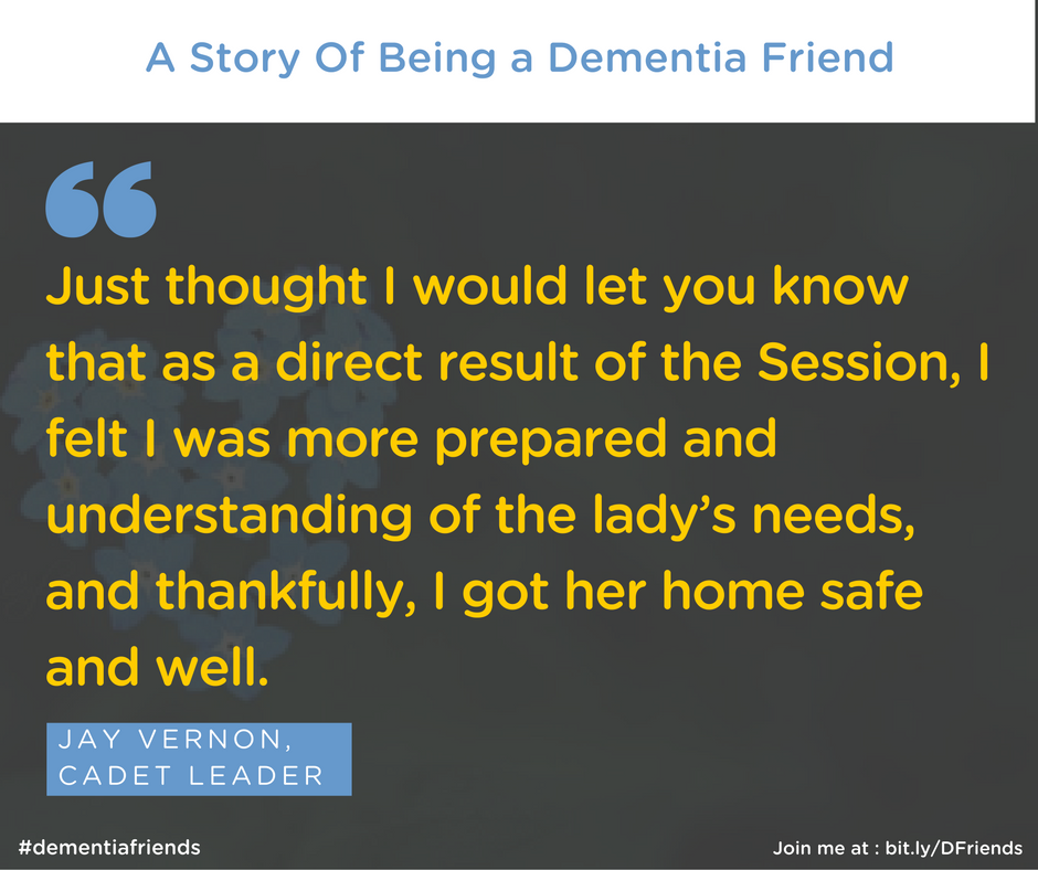 Understanding what is a Dementia Friend