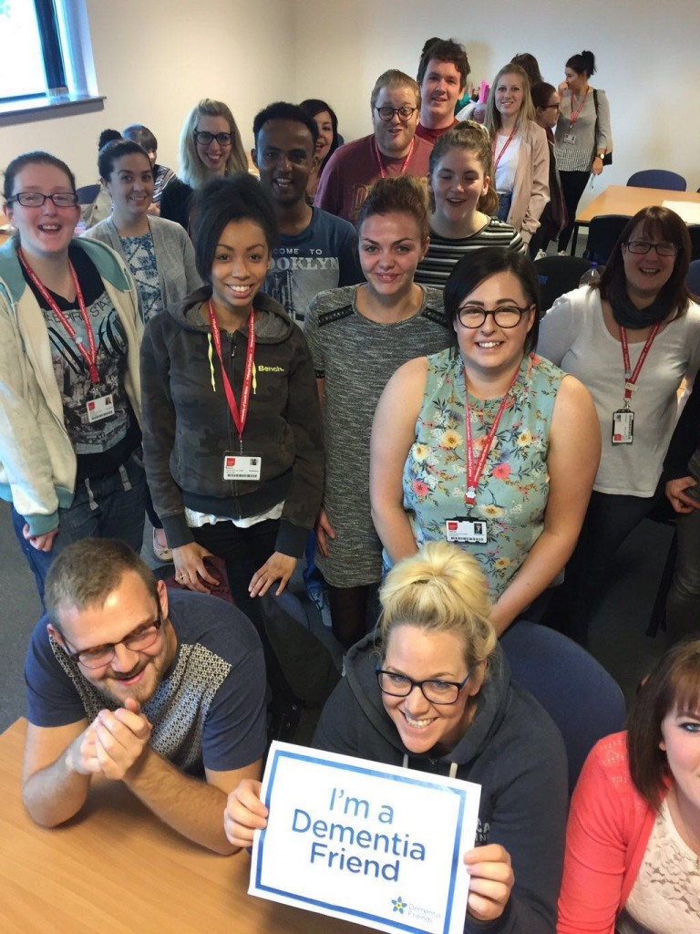 Dementia Friends for healthcare professionals